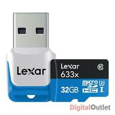 Lexar MicroSDHC Camera Memory Cards with High Speed