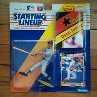 1992 Starting Lineup DAVID JUSTICE Atlanta Braves Action Figure NEW