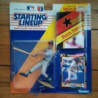 1992 Starting Lineup DAVID JUSTICE Atlanta Braves Action Figure NEW