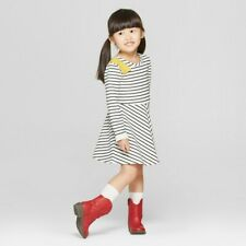 Toddler Girls Striped Knit Rib...