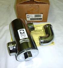 JR Smith 8750T0150-CP Hair Sediment & Lint Interceptor POLISHED CHROME PLATED