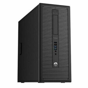 HP EliteDesk 800 G1, i5-4670, 4GB RAM, 500GB SSHD,DVD-RW, Win10 Pro+G-Data