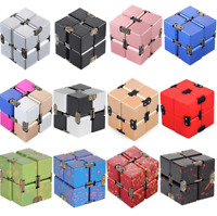 Sensory Infinity Cube Stress Fidget Toys for Autism Anxiety Relief Kids Adult