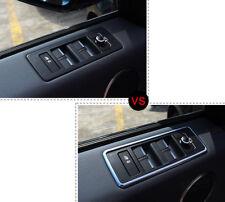 ABS Door Window Switch Cover Lid Trim for Land Rover Range Rover Sport 2014-2017