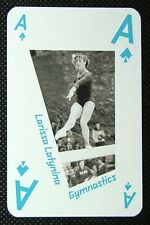 1 x playing card London 2012 Olympic Legends Larissa Latynina Gymnast Ace Spades