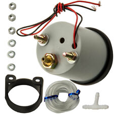 "2"" 52mm Car Universal LED Bar Turbo Boost Vacuum Gauge Meter -1~2Bar 12V PAM"