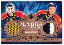 2008/09 Artifacts THOMAS VOKOUN & JAY BOUWMEESTER Tundra Tandems Jersey 40/75!