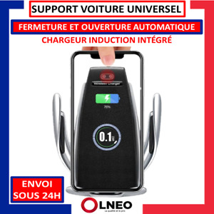 SUPPORT TELEPHONE VOITURE UNIVERSEL CHARGEUR SANS FIL AUTOMATIQUE WIRELESS