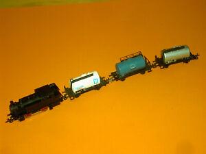 Dampflok 9Volt mit Güterzug Startset BTTB 80er Jahre sehr guter Zustand,