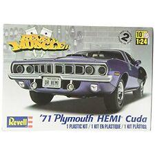 Revell Monogram 1:24 - 1971 Hemi Cuda 426 (muscle) - 124 Plymouth Plastic Model