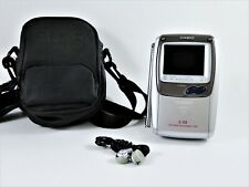 Casio Ti-Stn Portable Handheld LCD Color Television TV-970B With Case Earbuds