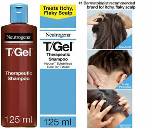 Neutrogena T/Gel Therapeutic Shampoo Treatment for Scalp Psoriasis, Dry Itching
