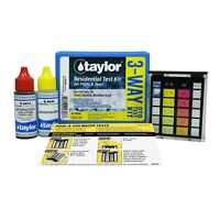 Taylor Technologie Residential OT SPA & Swimming Pool Water Test Kit 3-Way K1000