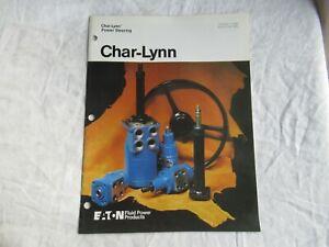 1983 Eaton Char-Lynn power steering catalog brochure