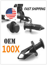 100x Fender Clips Body Rivets Plastic For 08-2015 Polaris RZR 170 570 800 900 XP