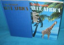 BLUE AFRICA ~ Colin Simpson. TRAVEL South Africa, Zimbabwe, Kenya  HbDj  in MELB