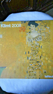 Kalender Kunstdrucke Gustav Klimt Jahr 2008