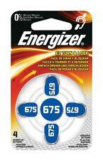 Energizer 4x Baterías Audífono ZA675 (4-Paquete de Blister)