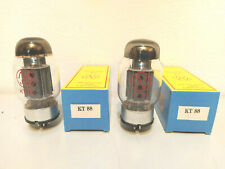 KT88 JJ-ELECTRONIC - COPPIA  - NUOVE - MATCHED - 2 PEZZI
