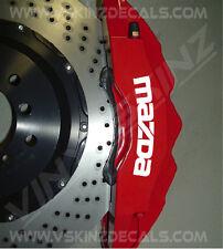 MAZDA Premium Brake Caliper Decals Stickers 2 3 5 6 7 8 RX RX7 RX8 CX MX MX5 323