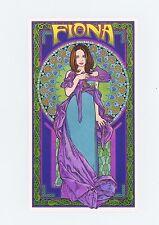 """Fiona Apple 2000 Bob Masse 3 3/4"""" x 6 5/8"""" Handbill Card MinT"""