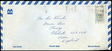 Canada 1976 Commercial Air Mail Cover To UK #C38571