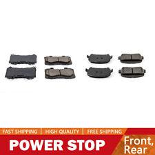 Powerstop 2-Wheel Set Brake Pad Sets Rear Driver /& Passenger Side New Z23-1806