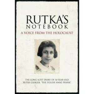 """Rutka's Notebook: A Voice from the Holocaust, Magazine,Time"""","""", Very Good"""