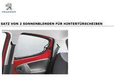 Original Peugeot 107 Sonnenblende Sonnenschutz Türscheiben hinten 9459E8 5 Türer