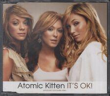 ATOMIC KITTEN It'S Ok  CD 3 Tracks, It'S Ok/It'S Ok-M*A*S*H Radio Mix/You Are, 7
