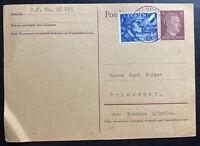 1940 Germany Netherland Legion Feldpost Postcard Cover To Prinzdorf