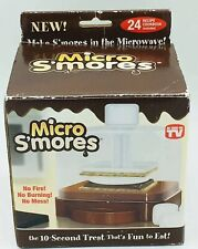 MICRO S'MORES - AS SEEN ON TV - MICROWAVE SMORES MAKER
