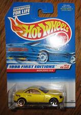 Hot Wheels 1998 First Editions Mercedes Slk #11/40 #646 Moc Mip New