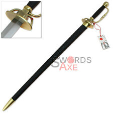 Blood+ (Plus) Japanese Anime Sword of Diva Replica Firangi-Like Rapier Full Tang