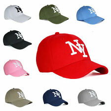 Baseball Cap NY&BASIC HUT Unisex Klettverschluss HERREN DAMEN Basecap Hut Kappe