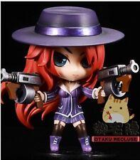 LOL League of LegendsBounty Hunter Miss Fortune Figure Car Decoration Figurines