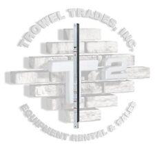 Qual Craft 2024 Aluminum Ultra Jack Pole 24' With Rubber Face Pump Jack Scaffold