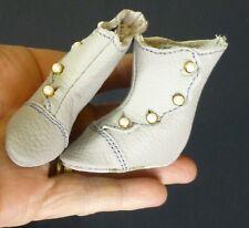 "85mm Scarpe Di Pelle Per Bambola antico dollmaking, /""jumeau/"" Scarpe"