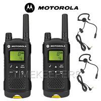 8Km Motorola XT180 Walkie Talkie Two Way PMR 446 Security Leisure Radio Twin
