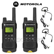 8 Km Motorola XT180 Walkie Talkie Dos Vías PMR 446 Seguridad Ocio Radio Doble