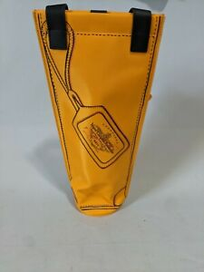 Veuve Clicquot Brut Champagne Insulated Cooler Bottle Bag NEW + GIFT TAG