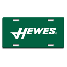 HEWES BOAT GREEN LOGO DECORATIVE LICENSE PLATE