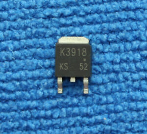 10pcs 2SK3918 K3918 N-CHANNEL POWER MOSFET TO-252