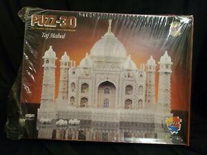Taj Mahal Puzz 3D Wrebbit Milton Bradley Hasbro Jigsaw Puzzle 1077 Pc