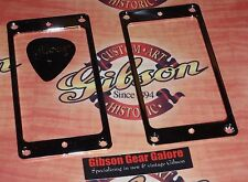 Gibson Les Paul Pickup Ring Covers Set Chrome Standard HP Mounting Guitar Parts
