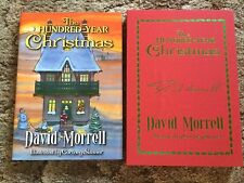THE HUNDRED-YEAR CHRISTMAS David Morrell 500 COPY SIGNED/LIMITED/SLIPCASED HC
