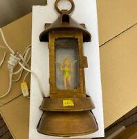 Tinkerbell Peter Pan night lamp super rare disneyland replica Disney prop Used