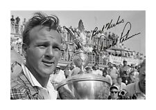 More details for arnold palmer (2) a4 reproduction autograph poster. choice of frame