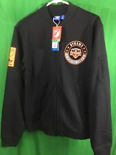 NEW NWT ADIDAS MLS HOUSTON DYNAMO ORIGINALS TRACK TOP FULL ZIP JACKET 2XL BLACK