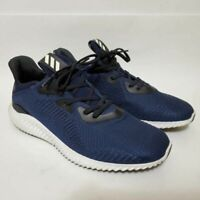 Adidas Mens 10.5 Alphabounce 1 Running Shoe Navy Blue BW0542 Lace Up Low Sneaker